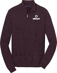 Mens Port Authority 1/2 Zip Sweater