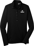 Ladies Nike Golf L/S Dri-Fit Stretch Tech Polo
