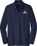 Mens Nike Golf L/S Dri-FIT Stretch Tech Polo